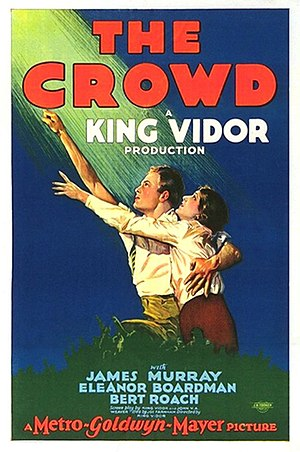 The Crowd (1928 film) - Theatrical release poster