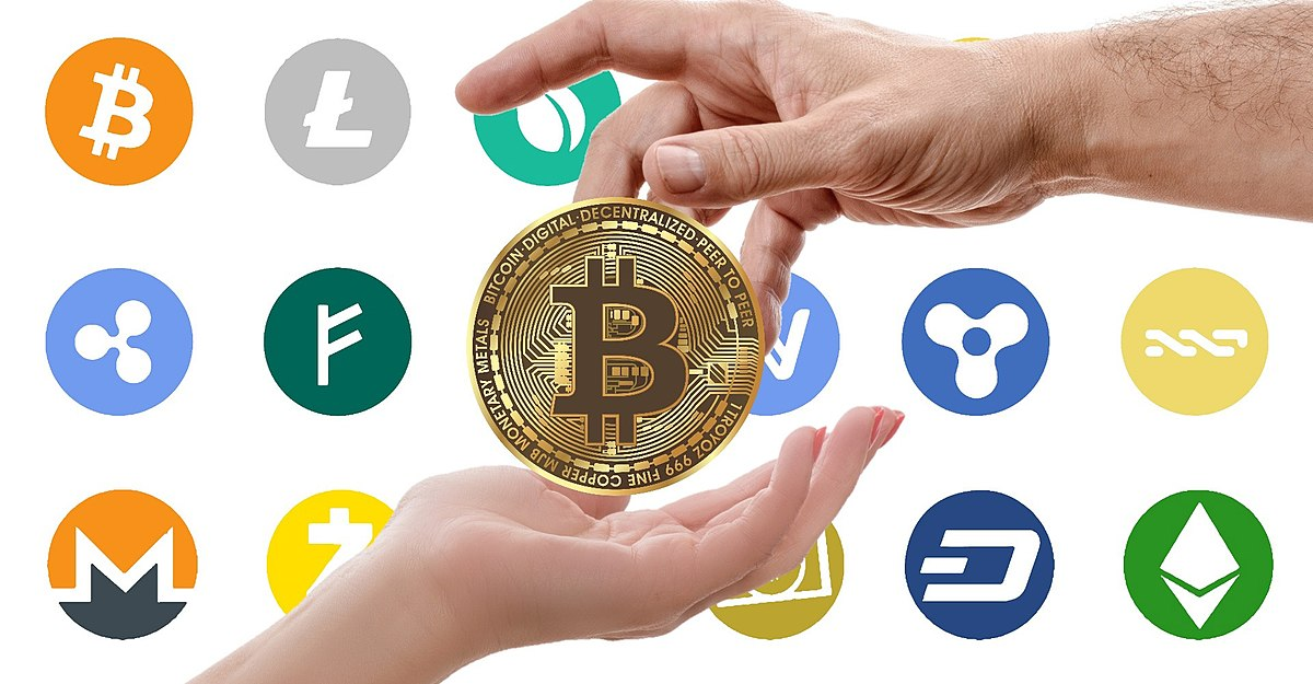 what are all the different cryptocurrencies