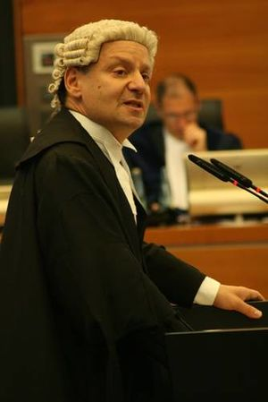 UCL Faculty of Laws - Professor Philippe Sands QC in a hearing at the International Tribunal for the Law of the Sea