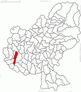 Cuci, Mureș Commune in Mureș, Romania