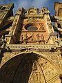 Cuerpo central de la fachada, catedral de Astorga.jpg