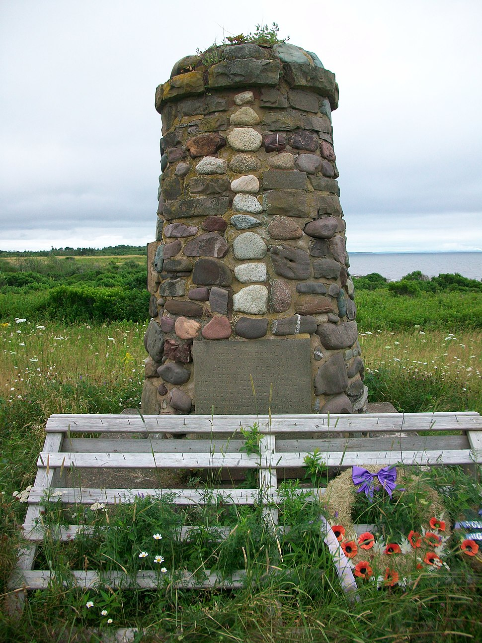 Culloden Cairn at Knoydart, Nova Scotia
