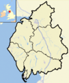 Cumbria outline map with UK.png