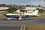 Cumulus Aeromedical Services (VH-UQK) Piper PA-28-180 Archer taxiing at Wagga Wagga Airport.jpg