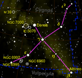 Cygnus constellation map negative.png
