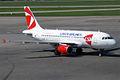 Czech Airlines, OK-MEK, Airbus A319-112 (16454740911).jpg