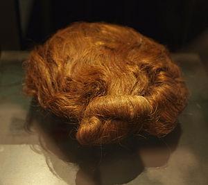 Suebian knot - Image: Dätgen Mans Hairs
