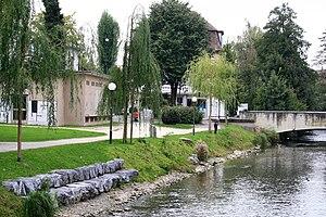 Dübendorf - Glatt river in Dübendorf