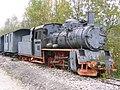 D-Bad Waldsee-Bahnhof Durlesbach-Lok.JPG
