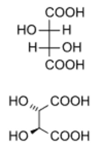 Stereoisomerism - Image: D tartaric acid