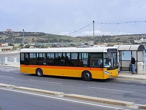 Solaris Valletta - Solaris Valletta bus in Malta.