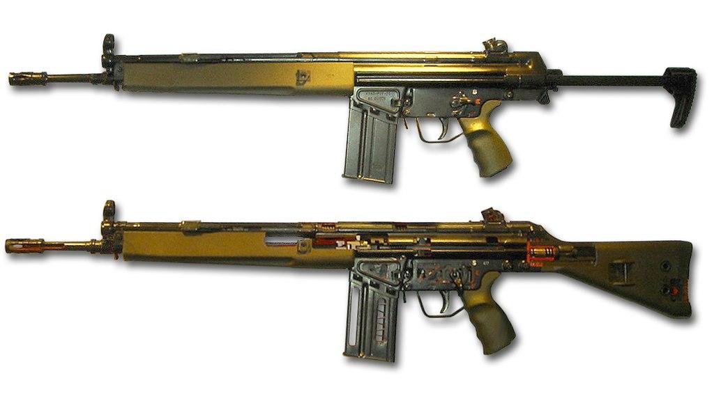 У нас амбітна мета - на 90% відмовитися від автоматів Калашникова. Прийнято рішення про закупівлю німецьких пістолетів-кулеметів МР-5, - глава Нацполіції Князєв - Цензор.НЕТ 3364