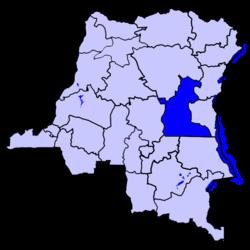 Location of Maniema