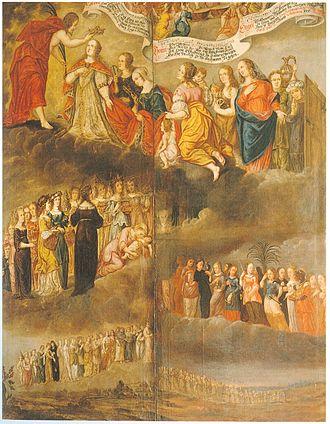 Antonia of Württemberg - Image: DH Brautzug Sulamith