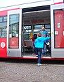 DOD vozovna Strašnice, tramvaj 9167, dveře.jpg