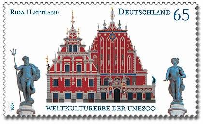 DPAG 2007 2614 Weltkulturerbe Riga