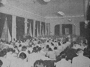 People's Representative Council - The Indonesian parliament in session in the 1950s