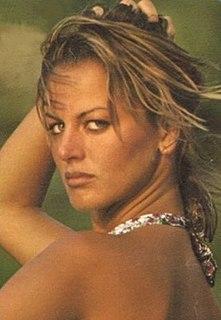 Dalila Di Lazzaro Italian model, actress and writer
