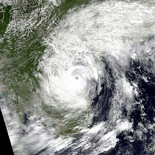 Typhoon Dan (1989) Pacific typhoon in 1989