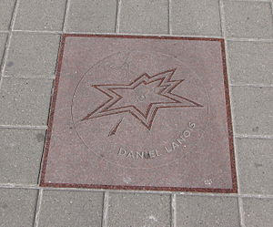 Daniel Lanois - Daniel Lanois' star on Canada's Walk of Fame.