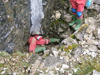 Ogof y Daren Cilau cave in United Kingdom