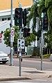 Darwin (AU), Knuckey St-Mitchell St, Traffic Light -- 2019 -- 4328.jpg