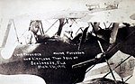 David McKelvey Peterson and F. X. Paversick in airplane that crashed March 16, 1919.jpg