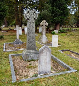 David Parkes Masson - Masson's grave at Brookwood Cemetery