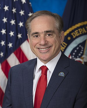 United States Secretary of Veterans Affairs - Image: David Shulkin official photo