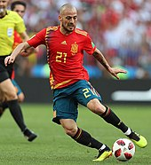 6fb4d40a1ac Silva represented Spain at the 2018 FIFA World Cup in Russia.