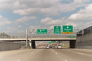 M-8 (Michigan highway) - The Davison (M-8)