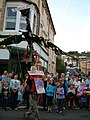 Dawlish Carnival crowd in Park Road - geograph.org.uk - 1731909.jpg