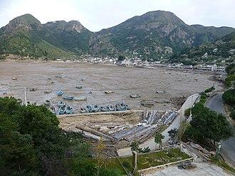 Zhejiang - Yuao, a fishing village on Dayu Bay in south Zhejiang (Cangnan County)