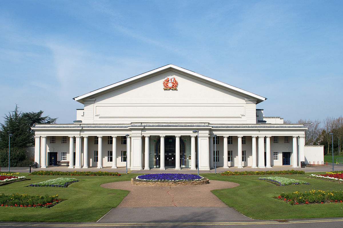 De Corporation Search >> De Montfort Hall - Wikipedia