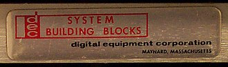 PDP-1 - A System Building Block, seen end-on