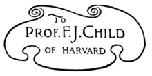TO PROF.F.J. CHILD OF HARVARD
