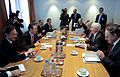 Defense.gov News Photo 100609-F-6655M-022 - Secretary General of the North Atlantic Treaty Organization Anders Fogh Rasmussen left welcomes Secretary of Defense Robert M. Gates to NATO.jpg