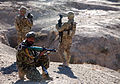 Defense.gov News Photo 101127-A-4834W-196 - An Afghan National Army soldier 2nd from right provides security with U.S Army soldiers from the 4th Brigade Combat Team 10th Mountain Division in.jpg