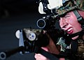 Defense.gov News Photo 110203-N-5538K-154 - Lance Cpl. Doug Hale assigned to the 31st Marine Expeditionary Unit participates in small-arms weapons training in the hangar bay of the.jpg