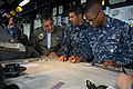 Defense.gov News Photo 120330-D-BW835-003 - Secretary of Defense Leon E. Panetta visits sailors on the bridge of the USS Peleliu LHA 5 in the Pacific Ocean off the coast of San Diego Calif..jpg
