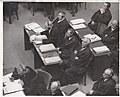 Defense counsel in the Medical Case in a courtroom of Nurnberg's Palace of Justice.jpg