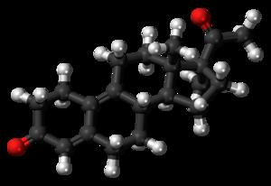 Demegestone - Image: Demegestone 3D ball