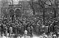 Demonstraties in Luik tegen de Eenheidswet, demonstranten trekken door Luik, Bestanddeelnr 911-9337.jpg