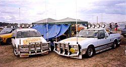 Deni ute muster 2002 two utes