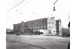 Denman Arena - Photograph of Denman Arena in 1913