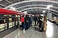 Departures platform of Terminal 3 Station (20191211171504).jpg