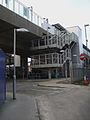 Deptford Bridge DLR station southern entrance look west.JPG