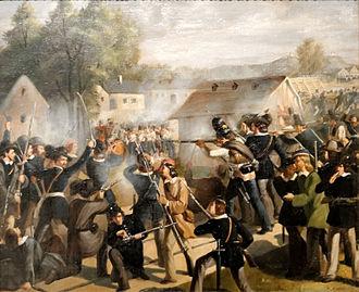 German revolutions of 1848–49 - Vienna Uprising, October 1848