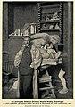 Der norwegische Bildhauer Stephan Sinding vor seinem Meisterwerk 'Die gefangene Mutter', c. 1901.jpg