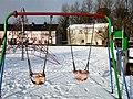 Deserted swings, Omagh - geograph.org.uk - 1631416.jpg